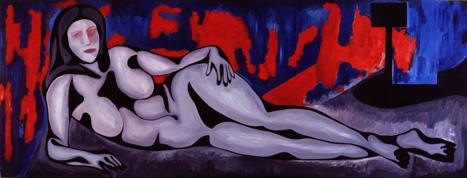 GAndreas_Reclining_Woman_1988_OC_35x96